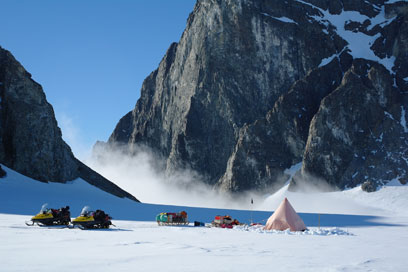 British Antarctic Survey two-man field camp