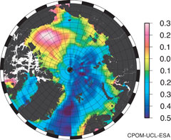 Arctic Ocean dynamic topography and currents