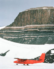 Ferrar basalts in Antarctica