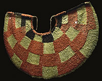 Feathered cloak made by early Polynesians