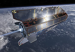 Earth Explorer satellite