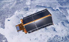 Cryosat above the Earth