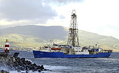 The US drillship Joides Resolution