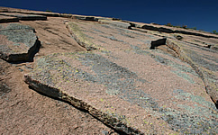Granite outcrop in Texas, USA